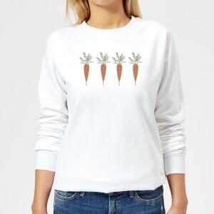 Carrots Women's Sweatshirt - White