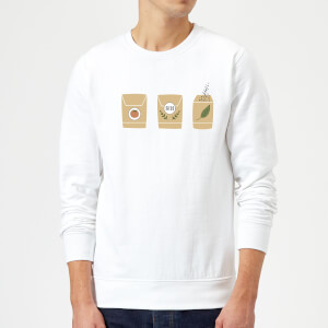 Seed Packets Sweatshirt - White
