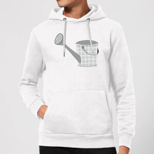 Watering Can Hoodie - White