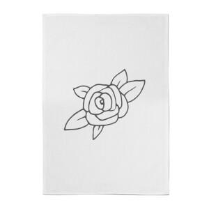 Rose Cotton Tea Towel