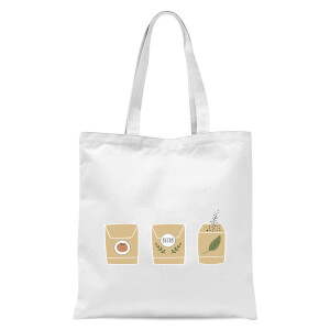 Seed Packets Tote Bag - White