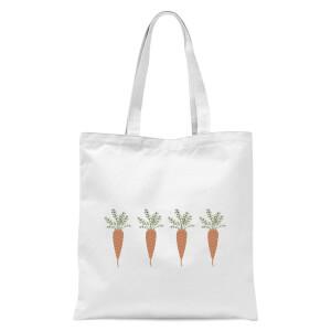 Carrots Tote Bag - White