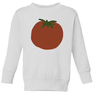 Tomato Kids' Sweatshirt - White