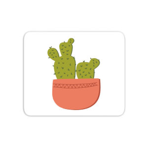 Two Potted Cacti Mouse Mat