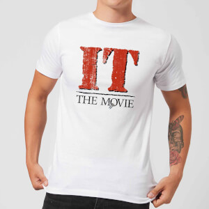 IT The Movie Men's T-Shirt - White