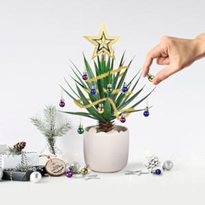 Festlichen Pflanzenkugeln