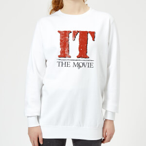 IT The Movie Women's Sweatshirt - White