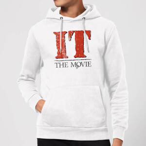 IT The Movie Hoodie - White