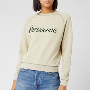 Maison Kitsuné Women's Parisienne Sweatshirt - Beige