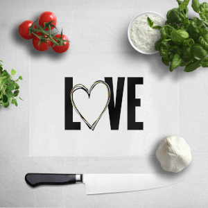 Love Heart Chopping Board