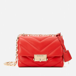 MICHAEL MICHAEL KORS Women's Cece Extra Small Chain Cross Body Bag - Bright Red