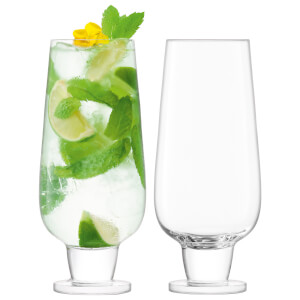LSA Rum Mixer Glass Clear - 550ml (Set of 2)