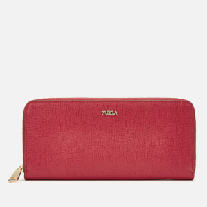 Furla Women's Babylon XL Zip Around Slim Wallet - Ruby