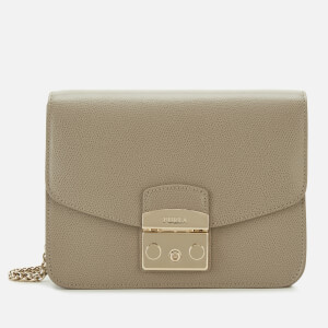 Furla Women's Metropolis Small Cross Body Bag - Beige