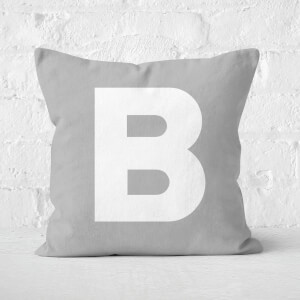 Letter B Square Cushion