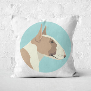 English Terrier Square Cushion