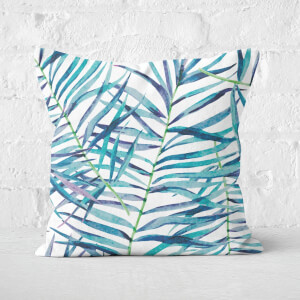 Botanical Pattern Square Cushion