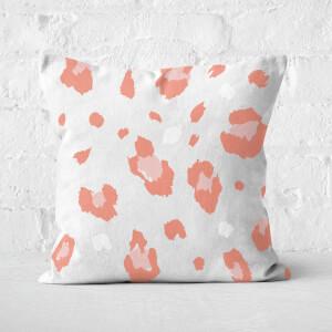 Cheetah Square Cushion