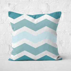 Zig Zags Square Cushion