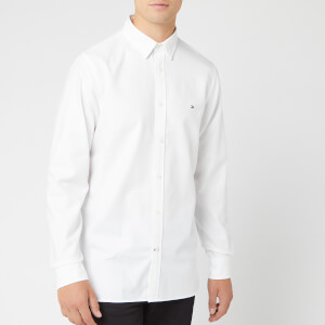 Tommy Hilfiger Men's Slim 4 Way Stretch Shirt - Bright White