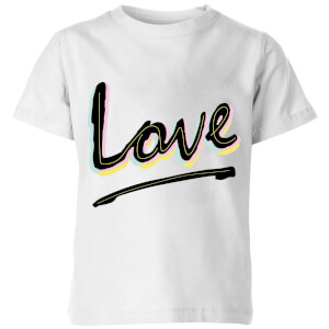 Love Kids' T-Shirt - White