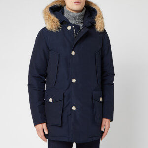 Woolrich Men's Artic Parka DF - Melton Blue