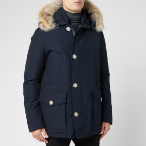 Woolrich Men's Artic Anorak - Melton Blue