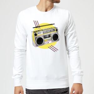 BoomBox Sweatshirt - White