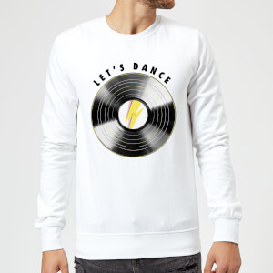Let's Dance Sweatshirt - White