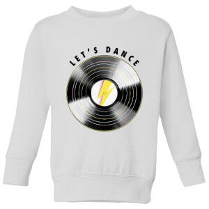 Let's Dance Kids' Sweatshirt - White