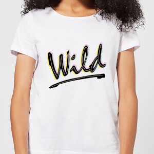 Wild Women's T-Shirt - White