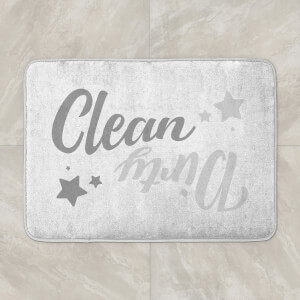 Clean Dirty Bath Mat