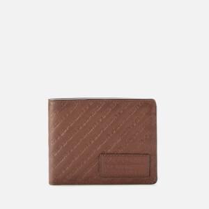 Superdry Men's All Over Print Badge Lineman Wallet - Light Brown