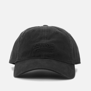Superdry Men's Orange Label Twill Cap - Black