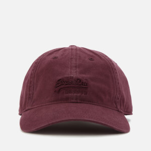 Superdry Men's Orange Label Twill Cap - Port