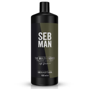 SEB MAN The Multi-Tasker Hair Beard and Body Wash 1000ml