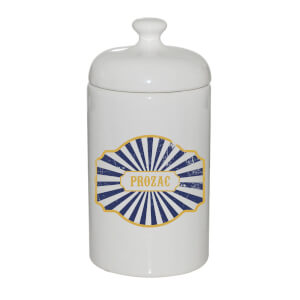 Prozac Ceramic Jar
