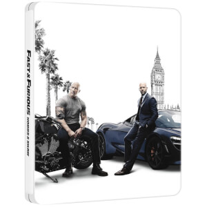 Fast & Furious Presents: Hobbs & Shaw – Limited Edition 4K Steelbook (Includes 2D Blu-ray)