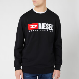 Diesel Men's Division Sweatshirt - Black