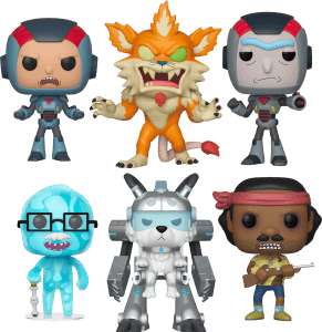 NYTF Rick and Morty Pop! Collection