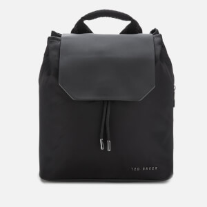 Ted Baker Women's Mahda Nylon Drawstring Backpack - Black