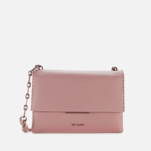 Ted Baker Women's Diilila Bar Detail Cross Body Bag - Dusky-Pink