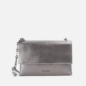 Ted Baker Women's Diilila Bar Detail Cross Body Bag - Gunmetal