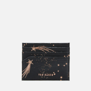 Ted Baker Women's Lixue Card Holder Star Keyring Set - Black