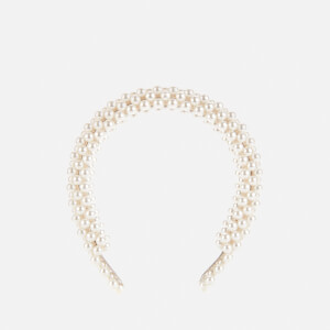 Shrimps Women's Antonia Beaded Headband - Cream
