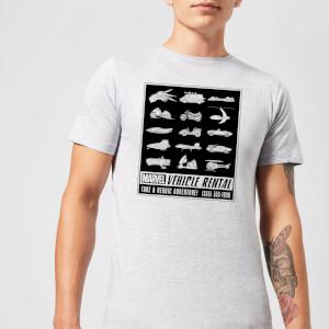 Marvel Vehicle Rentals Mono Men's T-Shirt - Grey