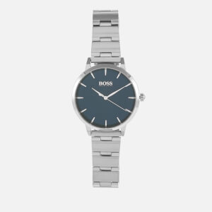 BOSS Hugo Boss Women's Marina Metal Strap Watch - Rouge/Blue