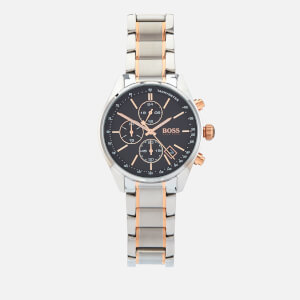 BOSS Hugo Boss Men's Grand Prix Chrono Watch - Rouge Black