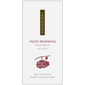 Snowberry YOUTH RENEWING Face Serum with eProlex 1.5ml