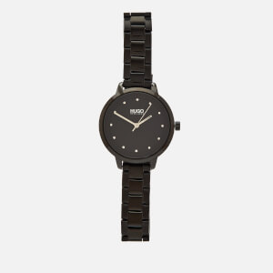 HUGO Women's Achieve Watch - Grey